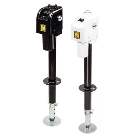 3500 lb Standard Electric Tongue Jack & Repair Parts